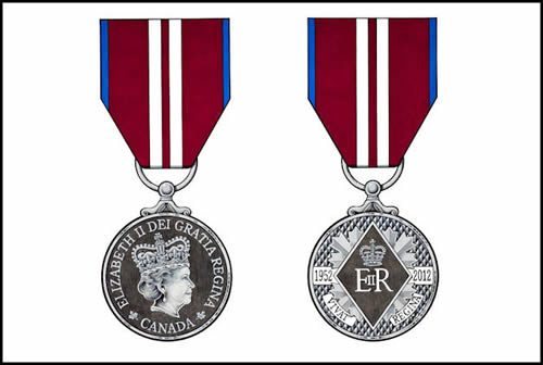 Diamond Jubilee Medal Large